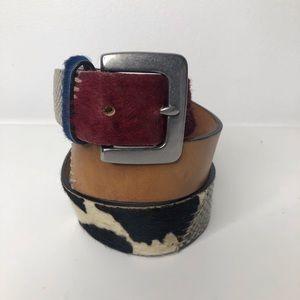 Gap Leather/Snakeskin Belt Size 32